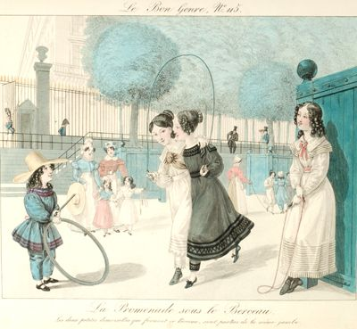 Le Bon Genre - a collection of images of pass times - drawings made from 1815 to 1817