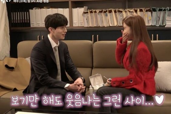 """Watch: Lee Dong Wook And Yoo In Na Bring Laughter And Sparks To Set Of """"Touch Your Heart"""""""