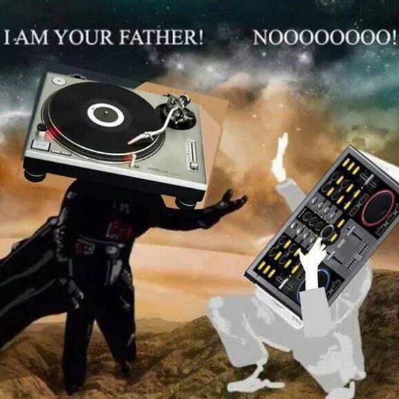 Im your father ! LOL. . #truestory #realdjsusevinyl #turntables #turntablism #turntablist #technics #vinyls #rane #serato #seratodj #djlife #pettisnmusic by djpettisn http://ift.tt/1HNGVsC