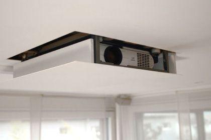 hidden home cinema projector