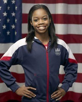 Gabby Douglas!! Whoo hoo. xoxo
