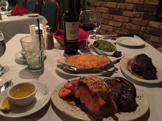 Superb Dinner at Gallahgers Restaurant in Covington, Louisiana