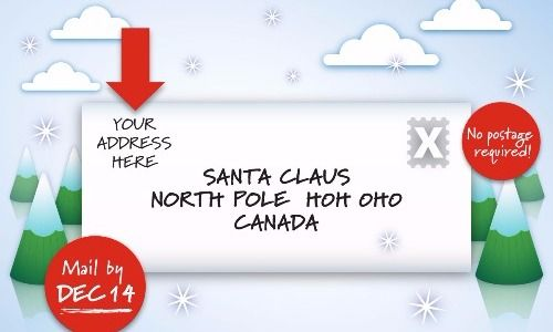 Things About Canada The Rest Of The World Finds Weird Page 16 Of 61 Canada Santa Letter Meanwhile In Canada