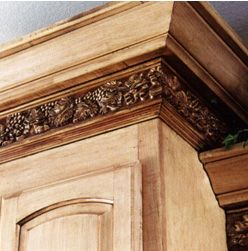 Do it yourself cabinet crown molding ideas colored cabinets