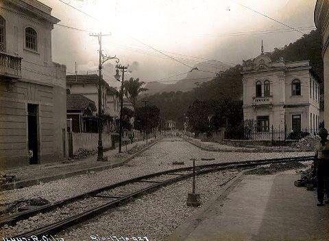Rua dos Oitis, Gávea. 1928.
