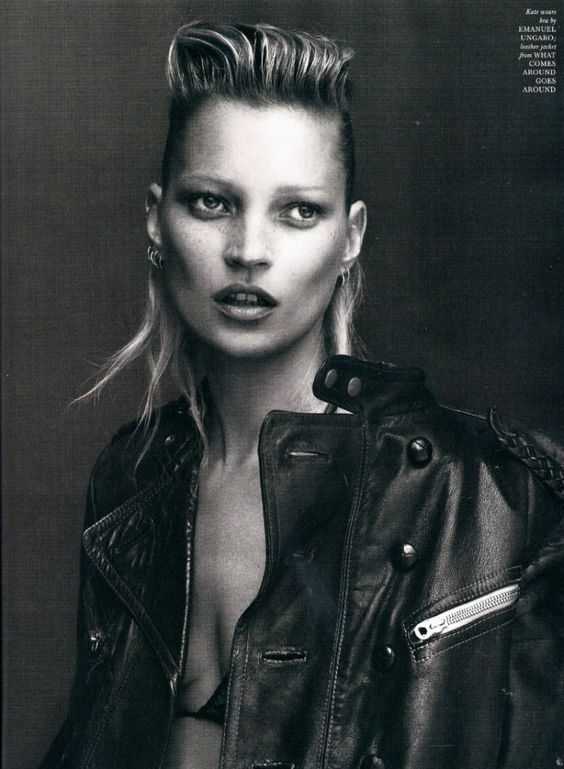 Kate Moss, does that count as a mullet?