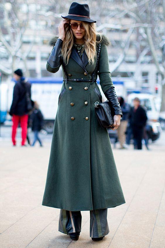 Лучшие зимние образы: стритстайл-фотографии с улиц Нью-Йорка, Парижа, Милана, Лондона   Vogue   Мода   STREETSTYLE   VOGUE