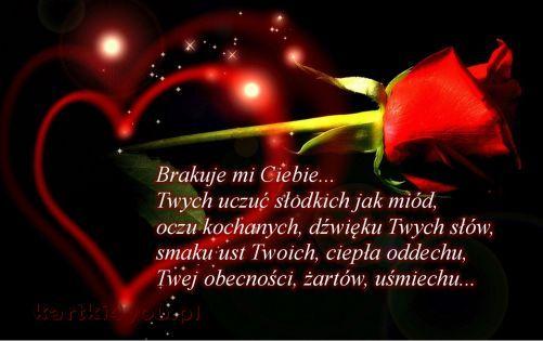 Brakuje Mi Ciebie Love Quotes Nostalgia Quotes