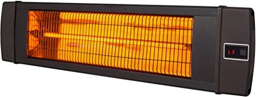 New Dr Infrared Heater 1500w Carbon Infrared Heater Indoor Outdoor Patio Garage Wall Ceiling Mount Remote Black Online Shopping The108ideashits In 2020 Patio Heater Best Patio Heaters Infrared Heater