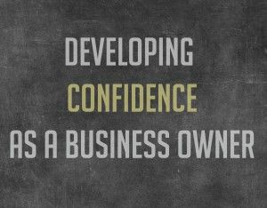 developing confidence