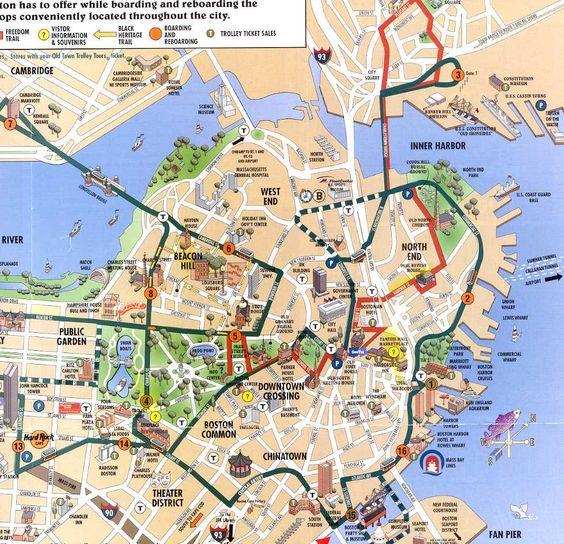 Massachusetts Boston Massachusetts cruising map with gay