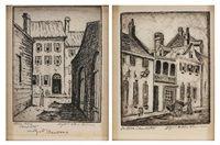 In Old Charleston Beadons Alley, Charleston 2 works by Elizabeth ONeill Verner