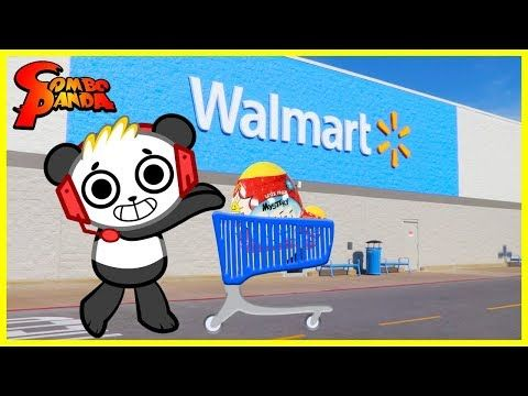 Combo Panda Toys Are Here Ryan S World Toy Shopping At Walmart And Unboxing Surprise Toys You Panda Coloring Pages Bunny Coloring Pages Flag Coloring Pages