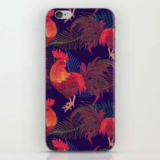 2017 Rooster year  iPhone & iPod Skin