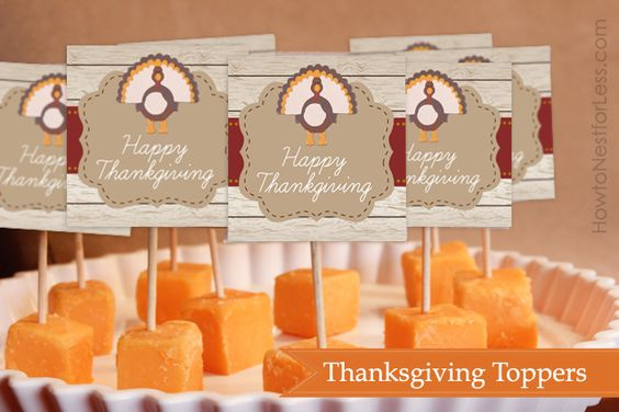 Great Thanksgiving Printables ~ How to Nest for Less
