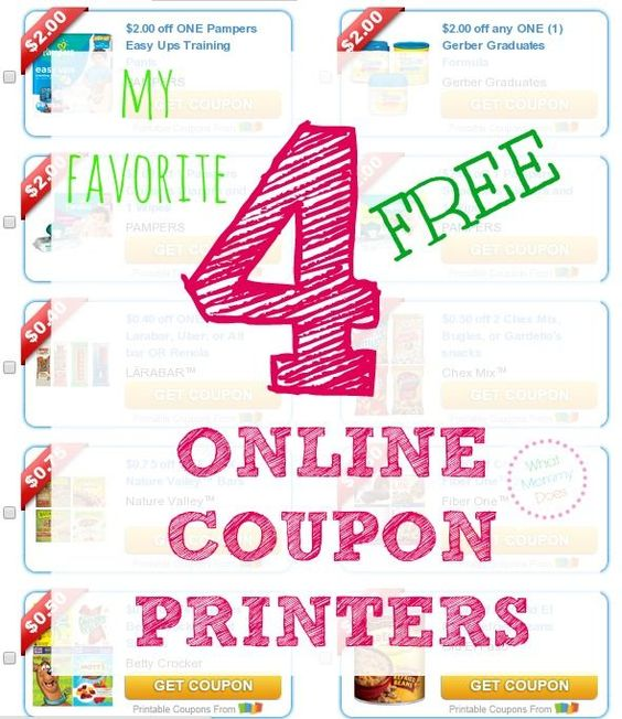 There are so many tricks to saving money on food & household items with coupons. I like having links to these 4 online coupon websites up my sleeve. Part of my coupon tips for beginners series to help families save money! There are free printable coupons for the grocery store and drug store, Target, and CVS, really anywhere that accepts manufacturer's coupons.
