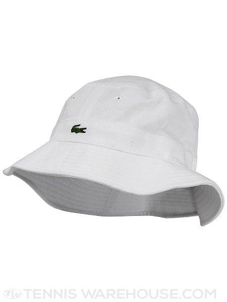Lacoste Men's Bucket Hat   tennis   Pinterest   Bucket hat ...