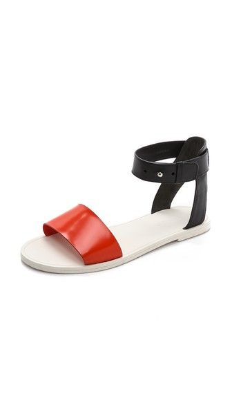 Vince Sawyer Ankle Flat Sandals