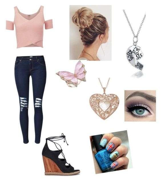 """""""Girl Meets the Secret to Life"""" by loovvee ❤ liked on Polyvore featuring Tory Burch, Lipsy, Bling Jewelry, Stephen Webster and tarte"""