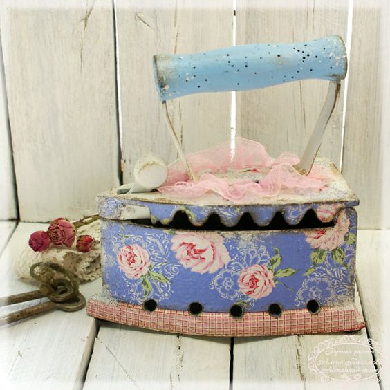 Antique Iron Cinderella by Alenahandmade on Etsy, $65.00: