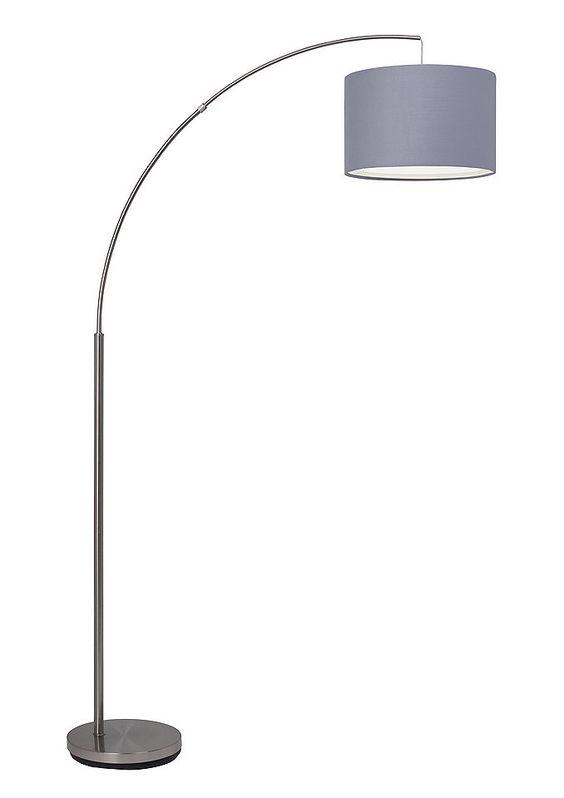Stehlampe, Brilliant Leuchten für 139,99€. Moderne Stehleuchte, Fantastische Lampe mit Textilschirm, Höhe ca. 180 cm, Ausladung ca. 113 cm bei OTTO