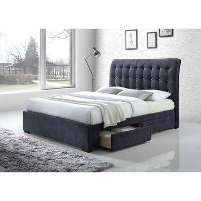 Craver Upholstered Storage Platform Bed Tempat Tidur Tidur