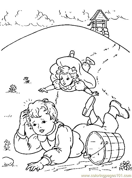mothergoose coloring pages - photo#16