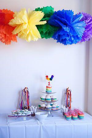 A lot of good rainbow birthday pointers. @Celeste Lawlor