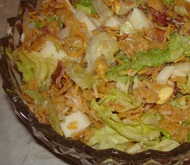 I tried the corn chip salad over the weekend. Thanks for the recipe, Barb! Barb posted it in the comment section of this post. She didn't leave a link, so I can't refer you to her site if she has o...