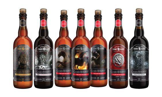 Cervejas da série Game Of Thrones