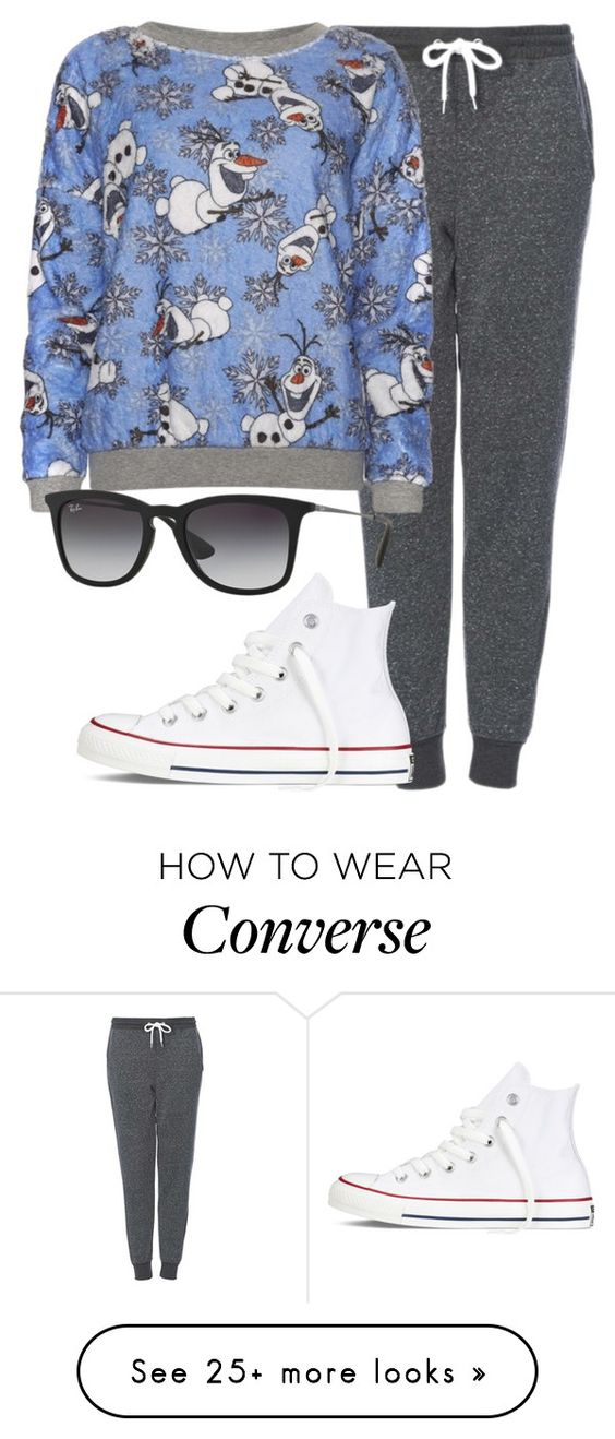 """perrie insp"" by littlemixmakeup on Polyvore featuring Topshop, Disney, Converse and Ray-Ban"