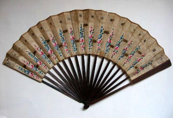 c.1780 French Découpé Fan