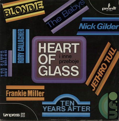 For Sale - Various Artists Heart Of Glass, I Inne Przeboje Poland  vinyl LP album (LP record) - See this and 250,000 other rare & vintage vinyl records, singles, LPs & CDs at http://eil.com