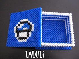Las cositas de Luli: Nueva caja en hama beads