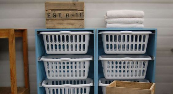 Laundry room dresser