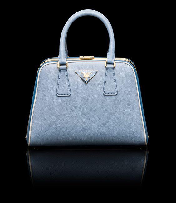 prada small cobalt pink saffiano leather crossbody bag