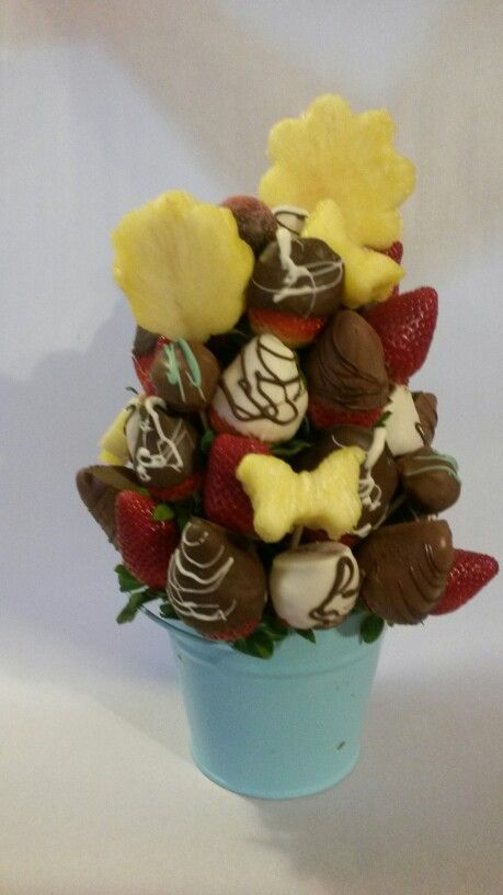 Any occasion is goid with fruit and chocolate.  By The Fruity Florist