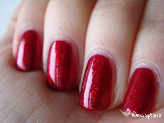 Chancer - Butter London Polish. Ruby red slippers inspired!