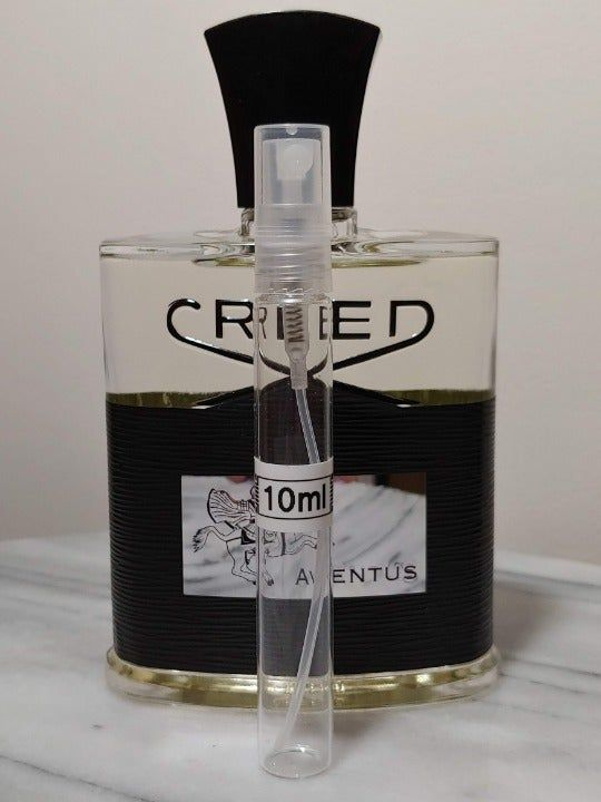 10ml Sample From Authentic Bottle Of Creed Aventus Edp Batch 19p11 In Clear Glass Atomizer Bottle Large Bottle Of Creed Not Incl Perfume Bottles Bottle Creed
