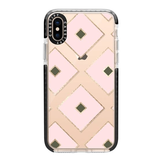 Whoa Check Out This Design On Casetify Pink And Gold Blush Pink Military Green