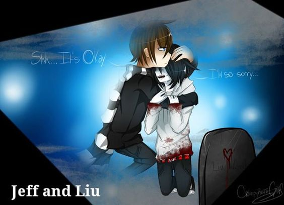 Jeff & Liu (SO SAD I AM ABOUT TO FREAKING CRY)