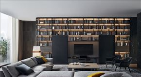 BOOKCASES - POLIFORM | Wall System News 2015 EN