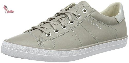 Miana Lace Up, Sneakers Basses Femme, Beige (Dusty Nude), 37 EUEsprit