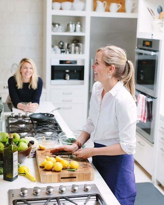 """For more informations check http://ift.tt/1O6jjNn""""Confidence is the most important thing and no one is going to give it to you""""  Learn how @amandacooks rose from sales associate to culinary director at @williamssonoma on theeverygirl.com (link in profile) by theeverygirl_"""