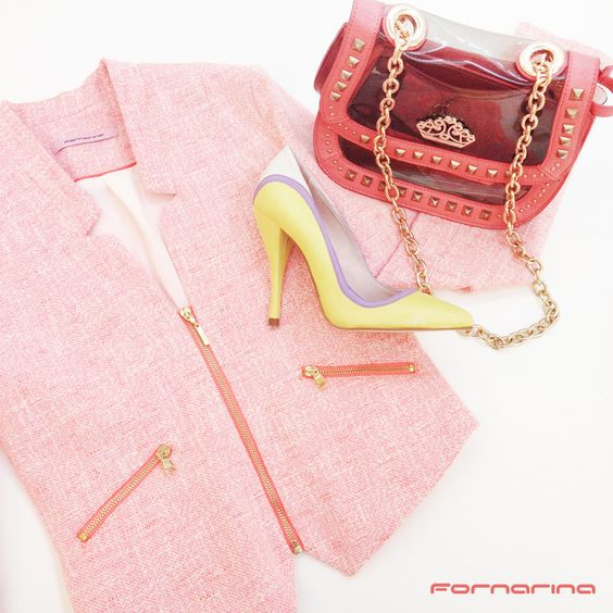 We totally ♡ Pastels! What about You, babes ?   #fornarina #colors #pastels #styletip #stilettoheels #orange