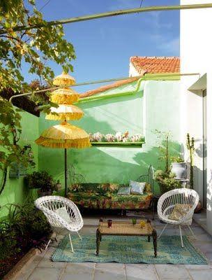 ... y un poco de diseño: La casa de una artista