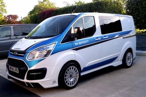 Wrc Inspired Ford Transit By M Sport Revealed Ford Transit