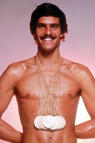 Mark Spitz. Olympic stud. His performance in the 1972 Summer Olympics in Munich was remarkable. Stood the test of time for 36 years until Beijing 2008 and Michael Phelps.