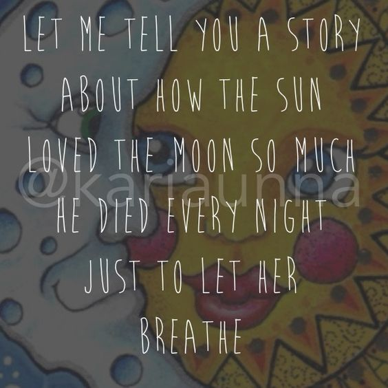 Sun And Moon Quotes: Sun And Moon Quote