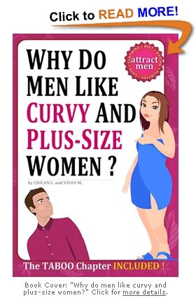 Seriously, some one needed to write a book about this..I can tell you why men like curvy and plus size women..because we are smoking hot..there I just saved the world 9.95 plus tax